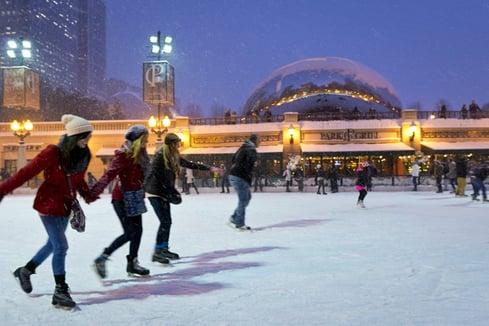 Photo Credit: City of Chicago / Millenium Park Ice Skating
