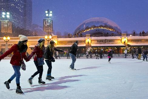 Photo Credit: City of Chicago / Millenium Park Ice Skating